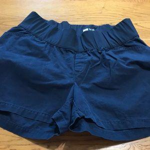 Gap maternity navy shorts, size 16